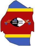 kungarike swaziland Arkivfoto
