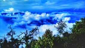 Kungariken av molnet arkivfoto