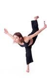 kungfu κοριτσιών Στοκ Εικόνες