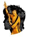 KungFu Bruce Lee Lizenzfreie Stockfotografie