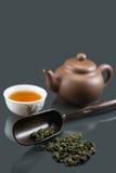 kungfu chińska herbata fotografia stock