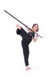 Kungfu Girl Royalty Free Stock Images