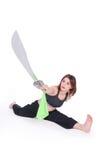 Kungfu Mädchen Lizenzfreie Stockfotos