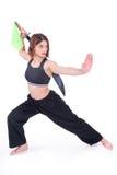 Kungfu Mädchen Lizenzfreie Stockfotografie
