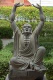 Kungfu master statue Stock Photos