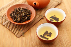 Kungfu tea Stock Photo