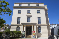 Kunglig akademi av musikmuseet i London Arkivfoto