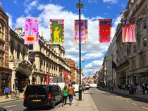 Kunglig akademisommarutställning Piccadilly London Fotografering för Bildbyråer