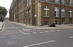 Kunglig arsenalgata i mer quartier Woolwich Fotografering för Bildbyråer