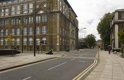 Kunglig arsenalgata i Woolwich som är mer quartier av London Royaltyfria Bilder