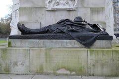 Kunglig artilleriminnesmärke, Hyde Park Corner, London, UK Arkivbild