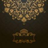 Kunglig bakgrund Royaltyfri Fotografi