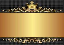 Kunglig bakgrund Arkivfoto