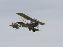 Kunglig biplan för flygplanfabrik BE2 Royaltyfria Foton