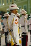 Kunglig Bogle för Bermuda regementemusikband royaltyfri foto