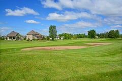 Kunglig Bromont golfklubb Arkivbild