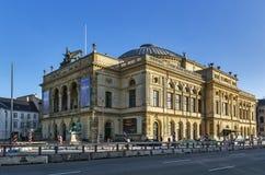 Kunglig dansk teater, Köpenhamn royaltyfria foton