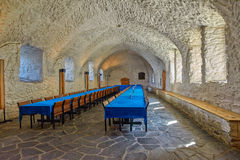 Kunglig Eatery (kantin) i en slott arkivbilder