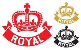 Kunglig etikett Arkivbilder