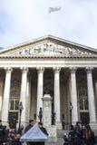 Kunglig fasad för utbytesbyggnad, London Royaltyfria Bilder