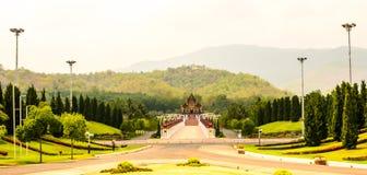 Kunglig flora parkerar, norden av Thailand Fotografering för Bildbyråer