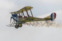 Kunglig flygplanfabrik B E biplan 2C Fotografering för Bildbyråer