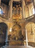 Kunglig kapellVersailles slott Frankrike Royaltyfri Foto