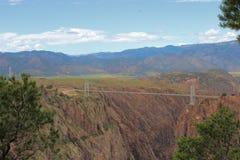 Kunglig klyfta Rocky Mountains, Colorado Arkivbild