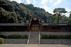 Kunglig mausoleum, Kyoto, Japan Fotografering för Bildbyråer