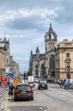 Kunglig mil. Edinburg Royaltyfri Bild