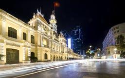 Kunglig natt för arkitekturslott, Royaltyfri Fotografi