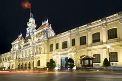 Kunglig natt för arkitekturslott, Royaltyfria Foton