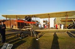 Kunglig nivå för flygplanfabrik BE2C Arkivbild
