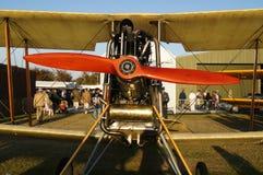 Kunglig nivå för flygplanfabrik BE2C Fotografering för Bildbyråer