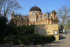 Kunglig observatorium, London, UK Arkivfoto