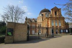 Kunglig observatorium, London, UK Arkivbilder