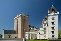Kunglig Pau slott i den franska staden Pau Arkivbild