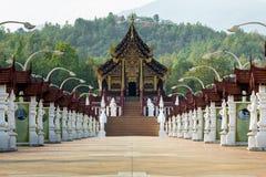 Kunglig paviljong Chiangmai Fotografering för Bildbyråer