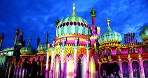 Kunglig paviljong för Brighton ` s, Brighton Festival, 2016, U K Royaltyfria Bilder