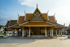Kunglig paviljong Mahajetsadabadin på bakgrund för blå himmel Fotografering för Bildbyråer