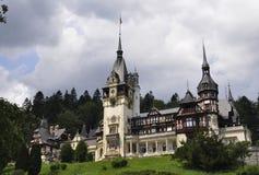Kunglig Peles slott från Sinaia i Rumänien Royaltyfri Foto