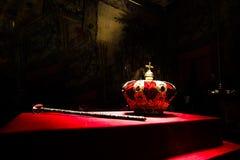 Kunglig person krönar Royaltyfri Foto