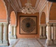 Kunglig personarmar i Jaipur Arkivbilder