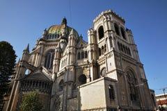 Kunglig personkyrka av St Mary i Schaerbeek bryska _ Royaltyfri Fotografi