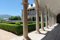 Kunglig personträdgård & x28; El Escorial& x29; , Spanien Arkivfoto