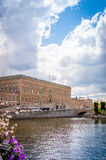 Kunglig slott Arkivfoto