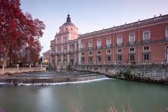 Kunglig slott Aranjuez Arkivfoto