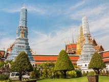 Kunglig slott av Bangkok, Thailand Arkivbilder