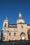 Kunglig slott av La Granja de San Ildefonso Arkivfoto