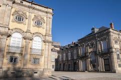 Kunglig slott av La Granja de San Ildefonso Fotografering för Bildbyråer